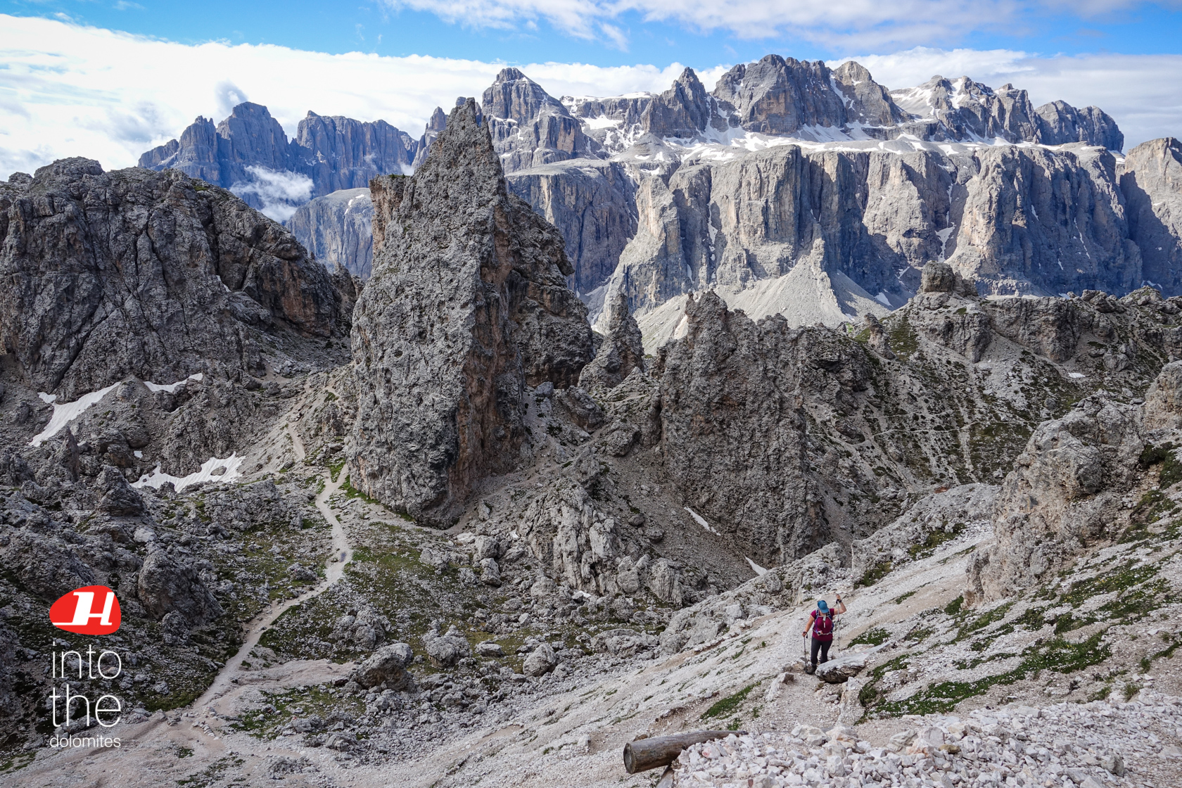 Hiking Dolomites