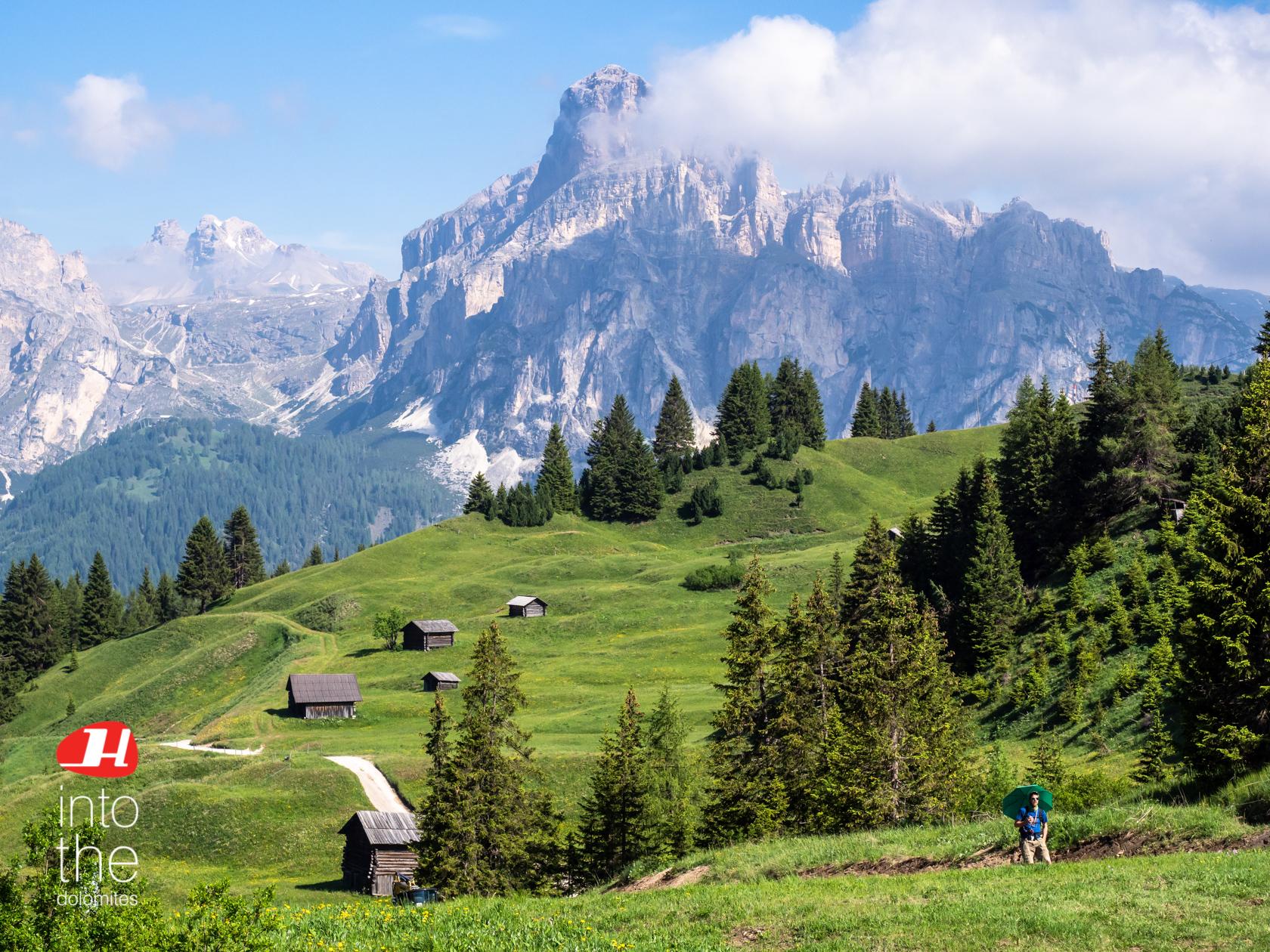 Hiking Tour through the Dolomites