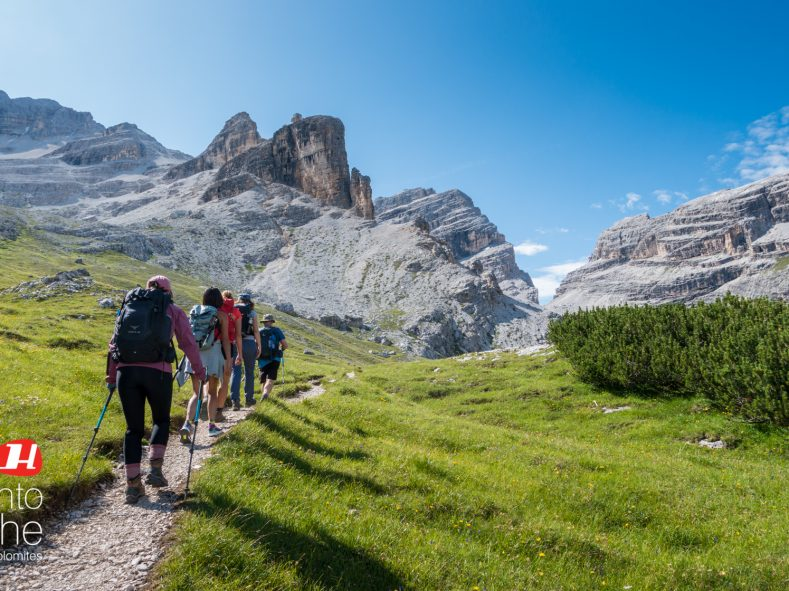 Hiking the Dolomites