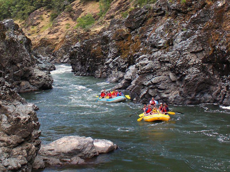 Rafting Oregon Trip