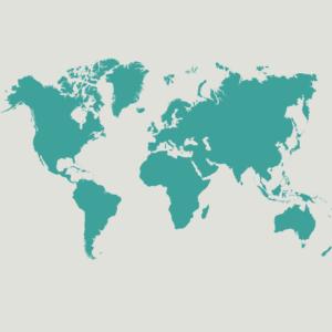MedTreks International - Map of the World