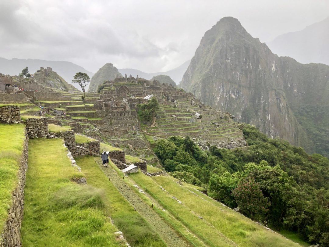 Guests visit Machu Picchu on their medical trip to Peru