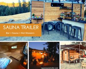 Rogue Sauna Trailer